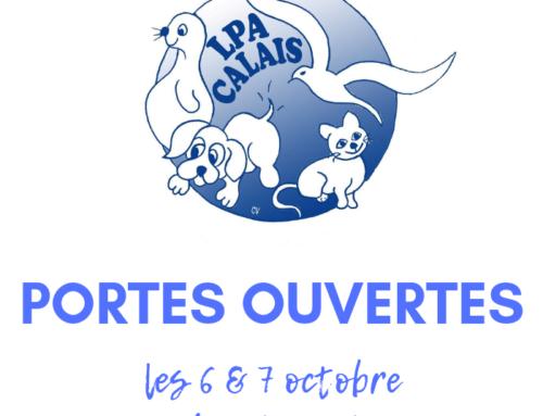 Portes Ouvertes de la LPA de Calais les 6 & 7 octobre 2018 !